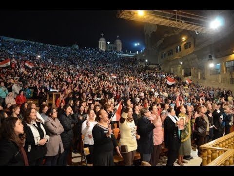 VIDEO! Biserica Copta din Egipt – 70.000 de persoane canta Domnului