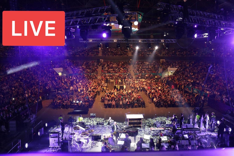 ACUM: LIVE VIDEO Sărbătoarea Sperantei cu Will Graham