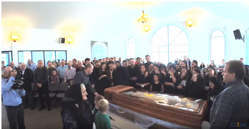 Inmormantare Maricica Danila – Capela Bivolarie