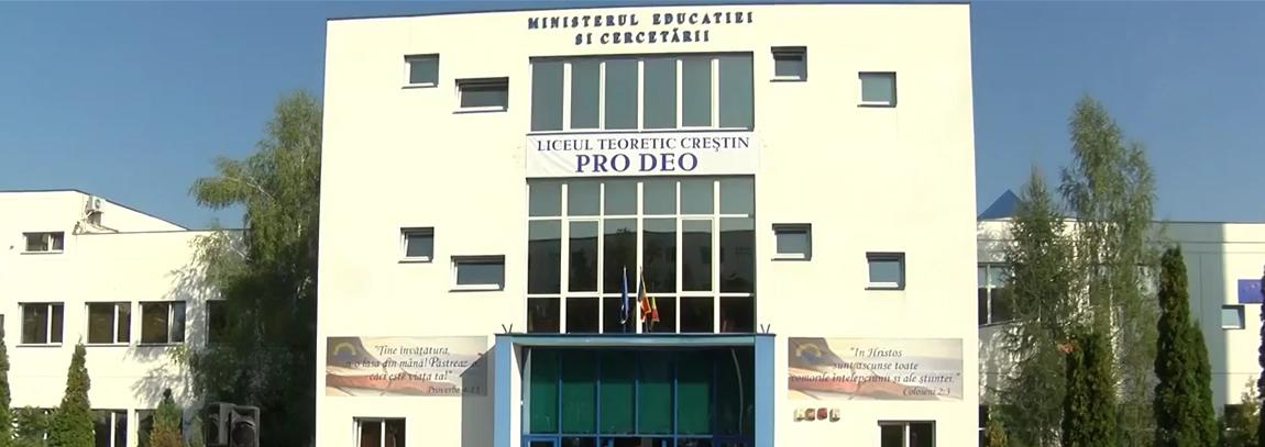 "Liceul ""PRO DEO"" din Cluj Napoca Promovabilitate 100% la BAC si in anul 2018"